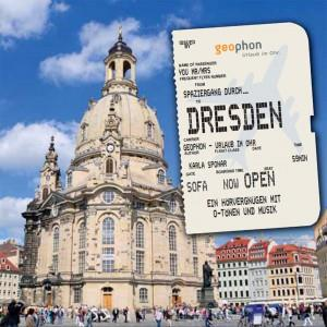 Hörbuch Cover: Spaziergang durch Dresden