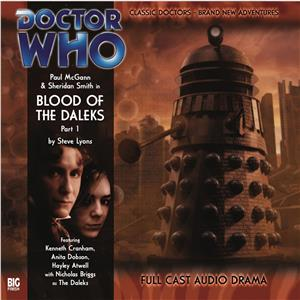 Hörbuch Cover: Doctor Who - The 8th Doctor Adventures, Series 1, 1: Blood of the Daleks (Unabridged) (Download)